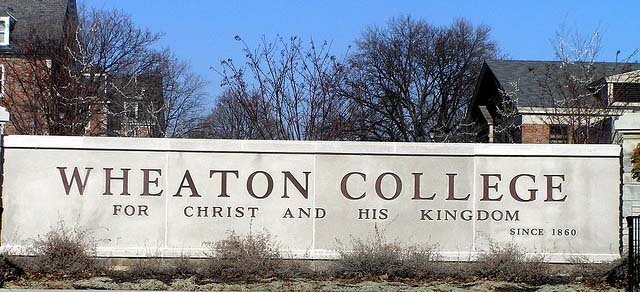 "Wheaton College, ""arguably the best school in the nation with a Christ-based worldview.""  Courtesy Steven Sheets, Flickr."