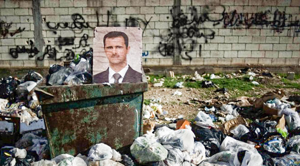 A photo of the Syrian president Bashar al-Assad. Courtesy FreedomHouse/Flickr.