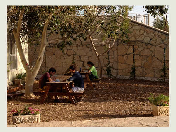 <i>Studying at Ein Prat Academy for Leadership, a pluralistic Israeli beit midrash.</i> Courtesy Tikvah Fund/Flickr.
