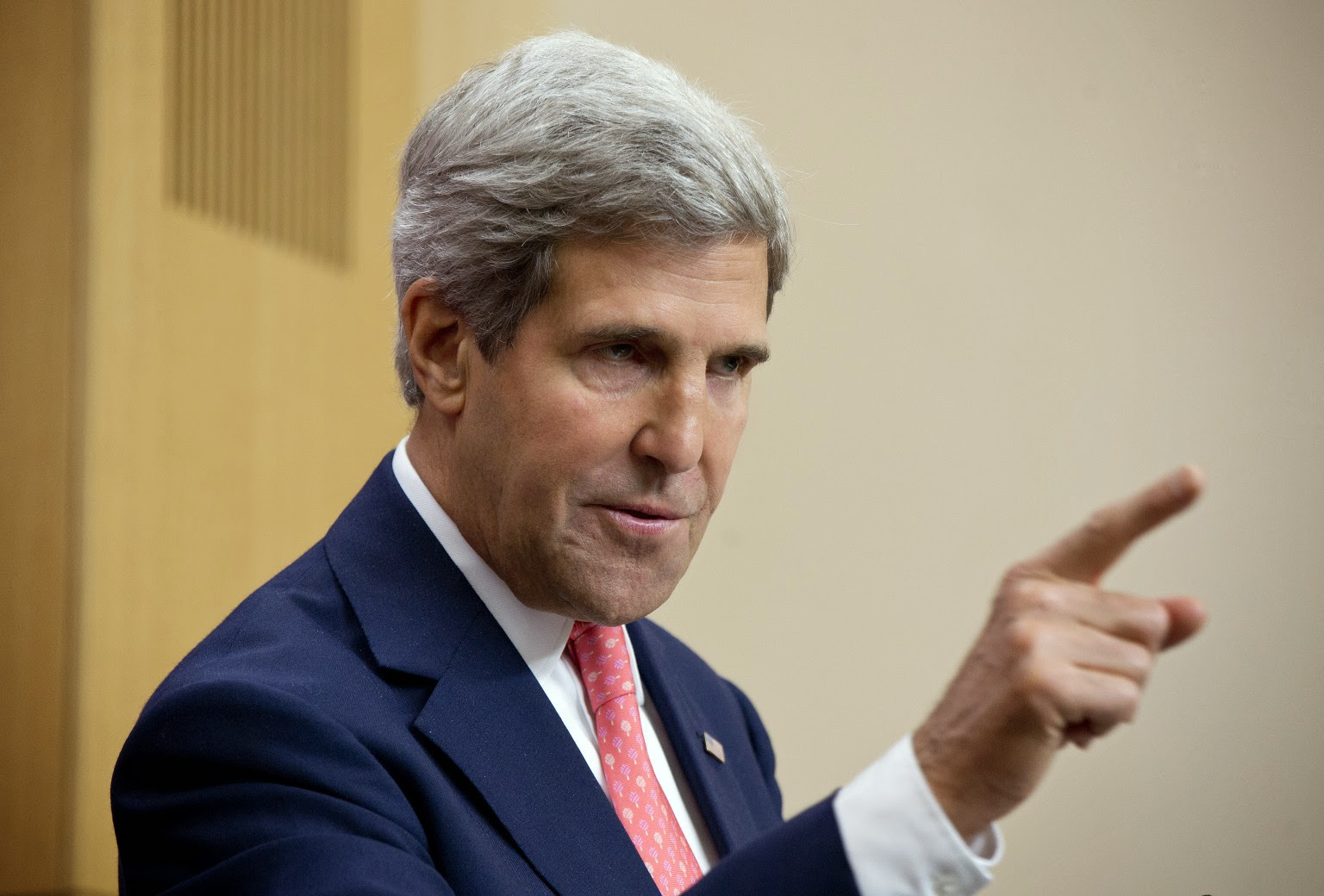 U.S. Secretary of State John Kerry. Photo by David Bebber - WPA Pool/Getty Images
