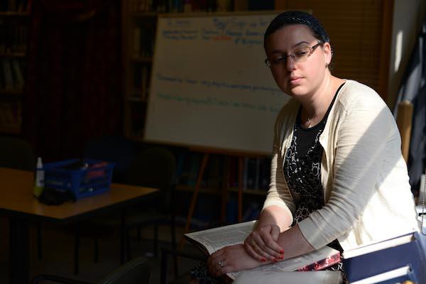 Ruth Balinsky Friedman, an Orthodox woman who was ordained in June 2013 as a maharat, a female legal, spiritual and Torah leader. Photograph © Jennifer S. Altman/The Washington Post.