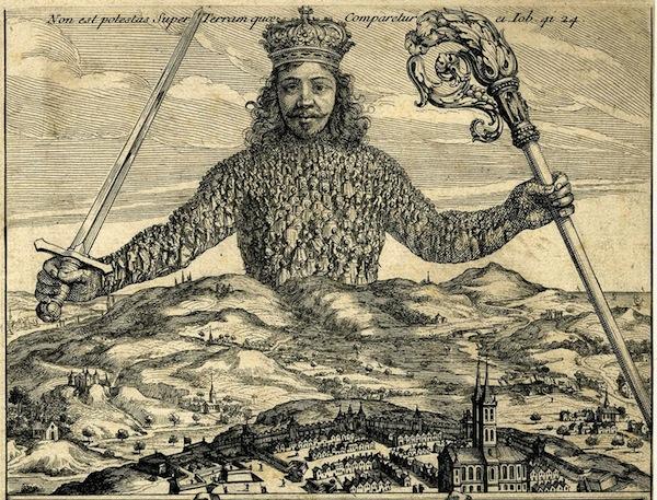 <i>Frontispiece of </i>Leviathan<i> by Thomas Hobbes</i> Abraham Bosse, 1651.