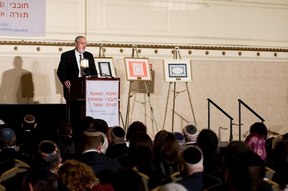 A gathering at Yeshivat Chovevei Torah. By Yeshivat Chovevei Torah, via Google Plus.